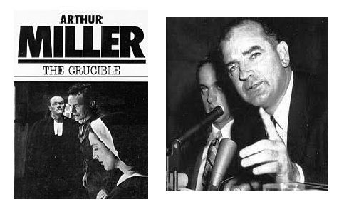 essay of the crucible by arthur miller